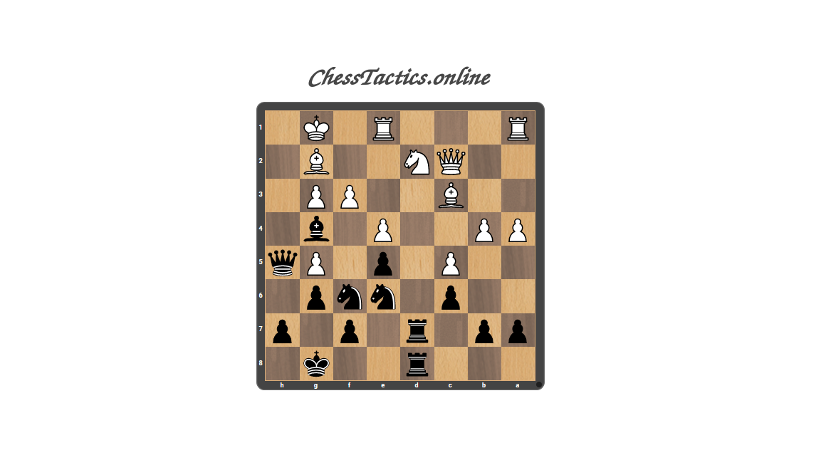 Chess-Tactics-Checkmate-Expert-Level