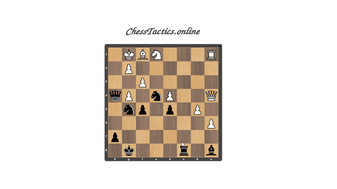Chess-Tactics-Checkmate