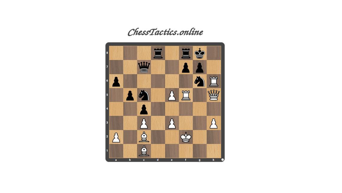 Chess-Tactics-Puzzles-Discovered-Attack-Advanced-Level