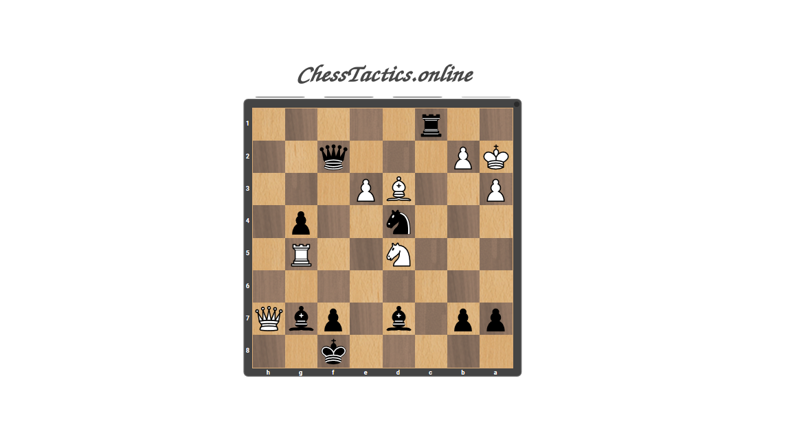 Chess-Tactics-Puzzles-Discovered-Attack-Beginner-Level