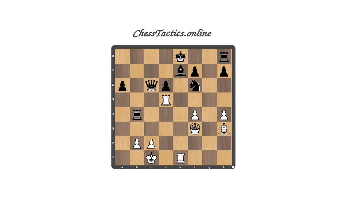 Chess-Tactics-Puzzles-Discovered-Attack