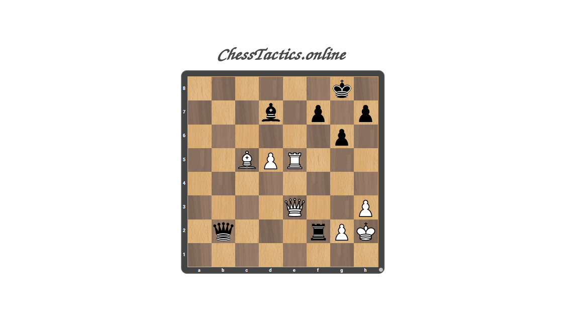 Chess-Tactics-Puzzles-Double-Attack-Advanced-Level