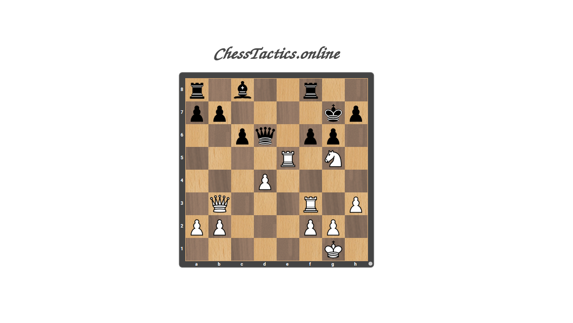 Chess-Tactics-Puzzles-Double-Attack-Expert-Level