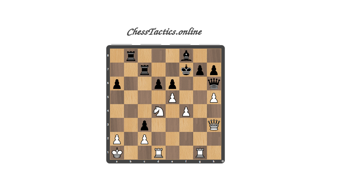 Chess-Tactics-Puzzles-Interference-Beginner-Level