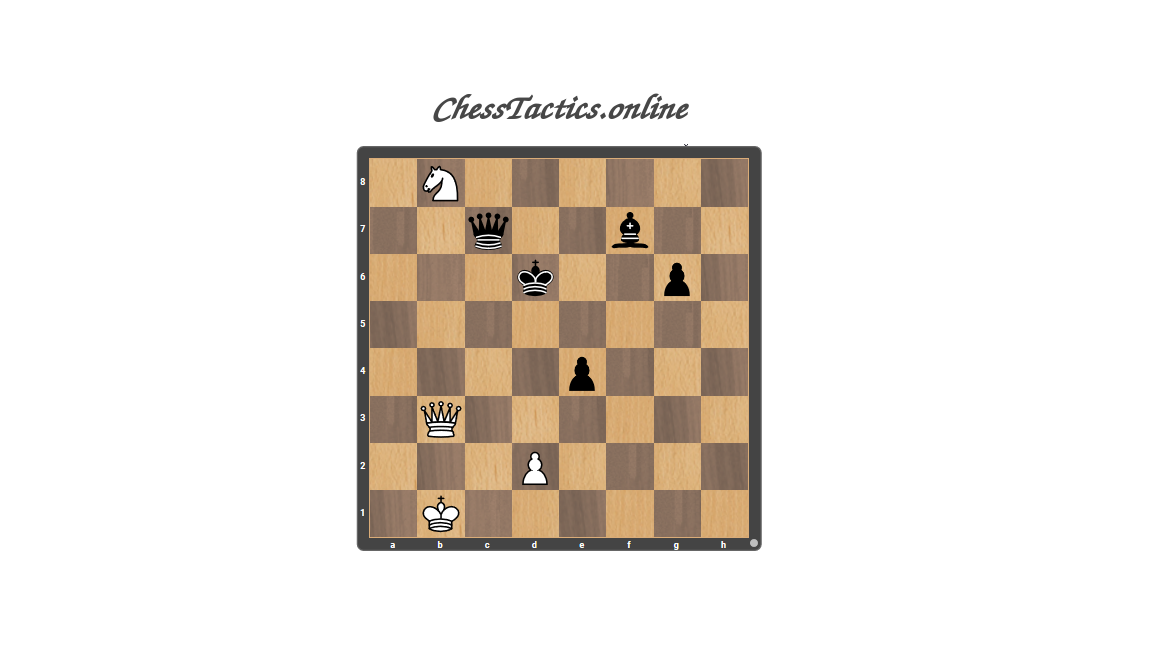 Chess-Tactics-Puzzles-Skewer