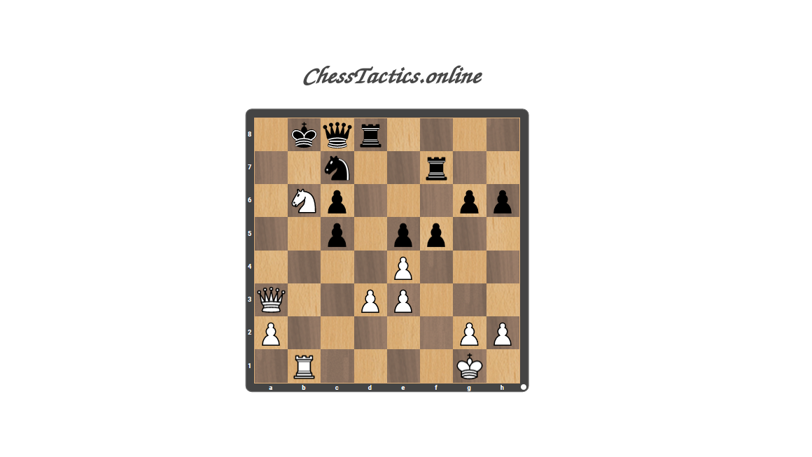 Chess-Tactics-Theory-Discovered-Attack