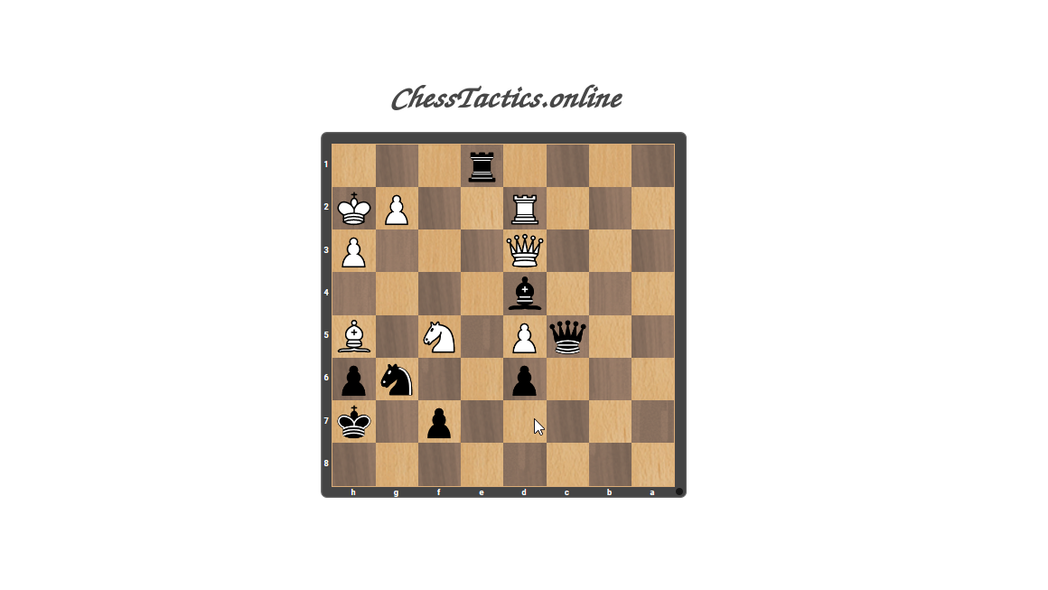 Chess-Tactics-Checkmate-Clearing-Beginner-Level