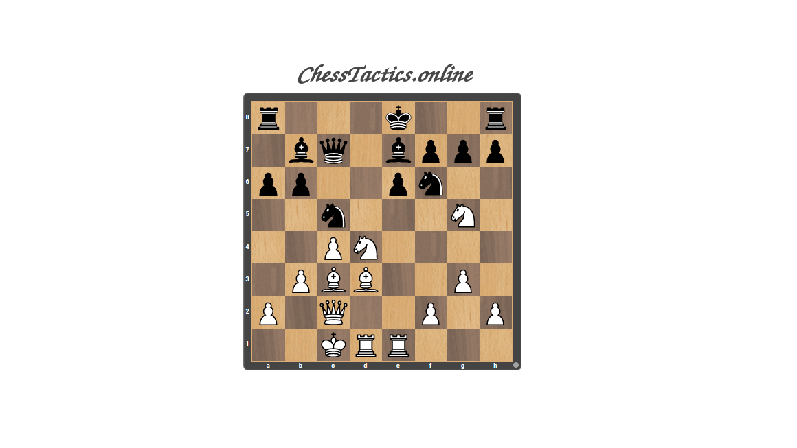 Chess-Tactics-Checkmate-Clearing-Expert-Level