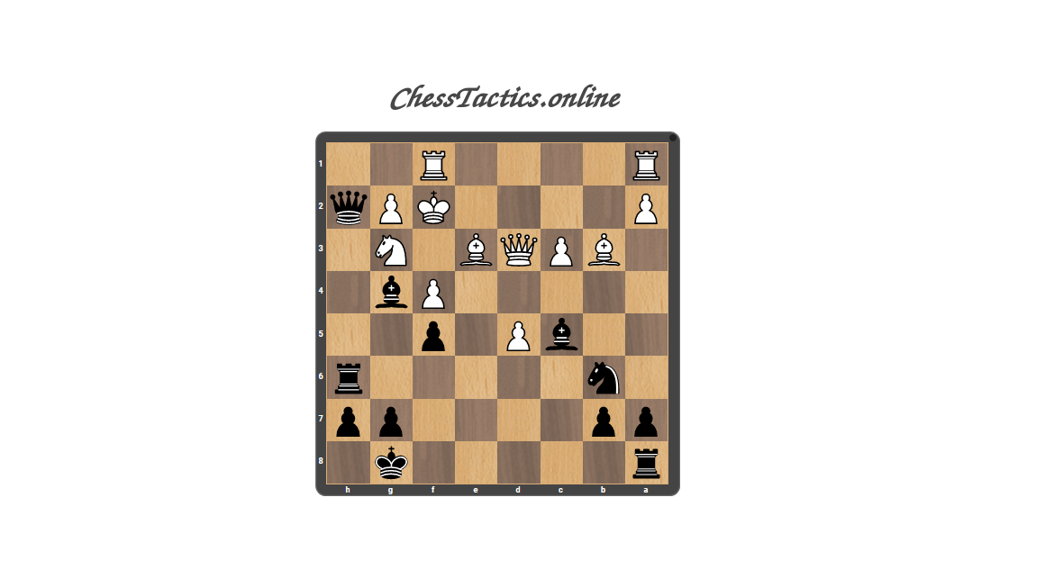 Chess-Tactics-Checkmate-Decoy-Expert-Level