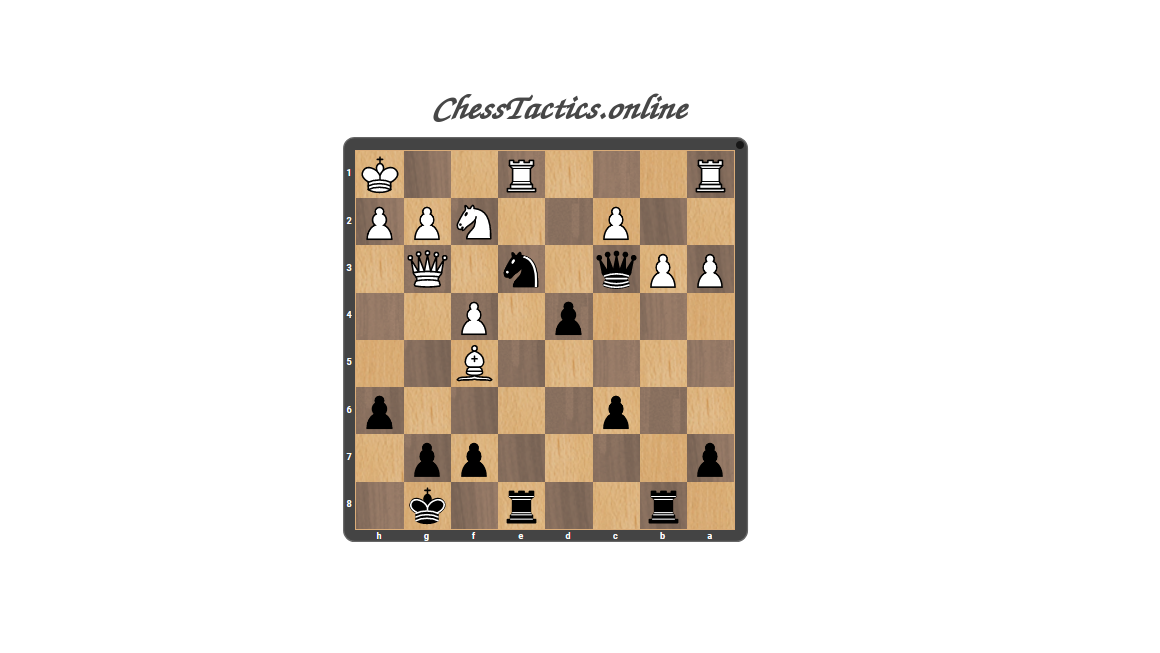 Chess-Tactics-Checkmate-Discovered-Attack-Advanced-Level