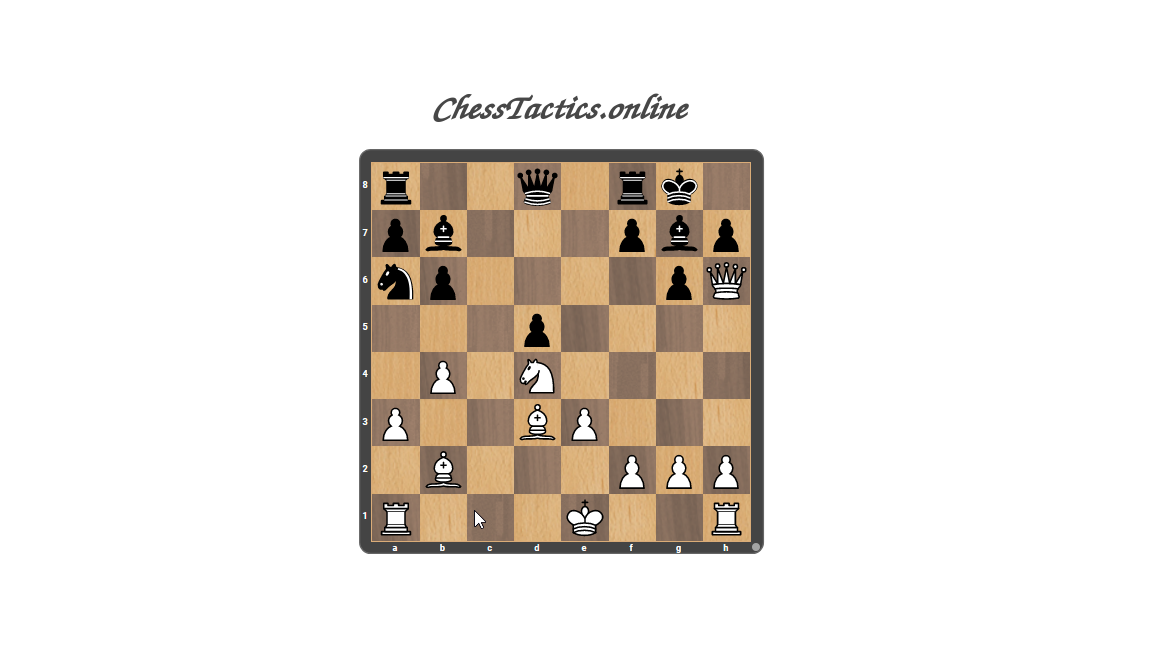 Chess-Tactics-Checkmate-Discovered-Attack-Beginner-Level