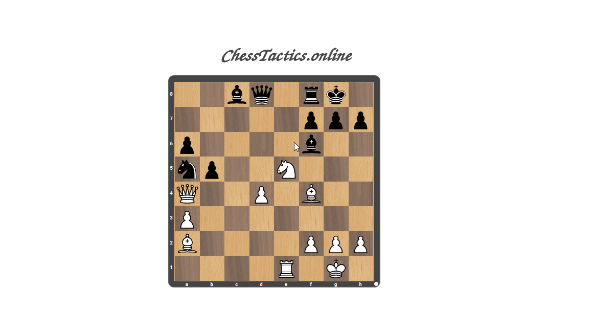 Chess-Tactics-Checkmate-Distraction-Advanced-Level