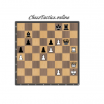 Chess-Tactics-Checkmate-Open-Line-Beginner-Level